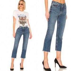 GRLFRND Tatum Rigid Micro Boot Jeans Only Lies